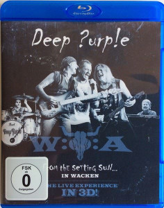 DEEP PURPLE From The Setting Sun... In Wacken 2015 18-track Blu-ray NEW/SEALED
