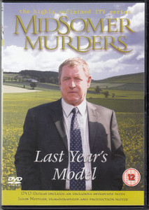 MIDSOMER MURDERS Last Year's Model 2006 UK region 2 DVD NEW/UNPLAYED