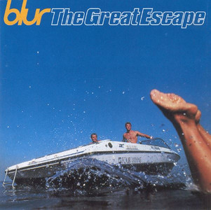 BLUR The Great Escape 1995 15-track CD album NEW/SEALED
