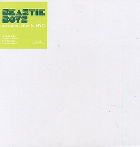"BEASTIE BOYS - An Open Letter To NYC (12"" Vinyl Single)"