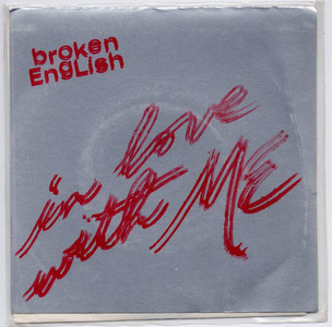 "BROKEN ENGLISH - In Love With Me (7"" Vinyl Single)"