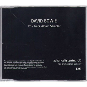 DAVID BOWIE - 17-Track Album Sampler (CD ALBUM)