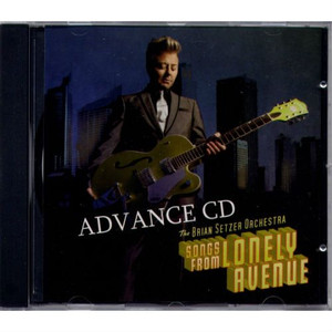BRIAN SETZER - Songs From Lonely Avenue (CD ALBUM)