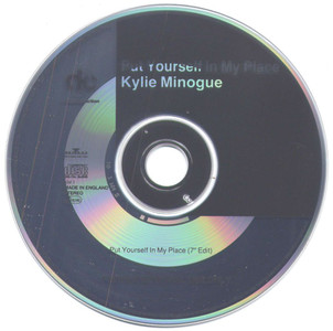 """KYLIE MINOGUE - Put Yourself In My Place (5"""" CD SINGLE)"""