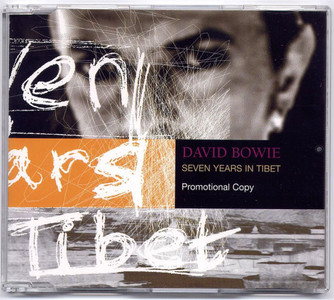 "DAVID BOWIE - Seven Years In Tibet (5"" CD SINGLE)"