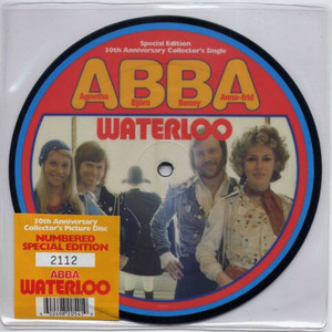 "ABBA - Waterloo (7"" Vinyl Picture Disc)"