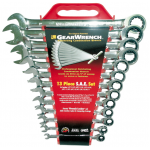 13013 - 13PC. SAE ratchet wrench COMB SET