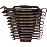 13100 - 11Pc. Metric Comb. Wrench Set (Mirror Finish)