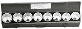 """95309 - 9 PC 2-1/6"""" - 2-1/2""""; 3/4"""" DR. SOCKET SET"""