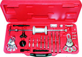 9558 - Master Two Jaw/Three Jaw Slide Hammer Puller Set