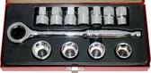 "KS412 - 1/2"" Drive Gearless Socket Set"