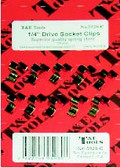 "5920-C - 1/4"" Dr. Socket Clips 10/Card"