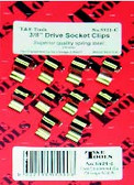 "5921-C - 3/8"" Dr. Socket Clips 10/Card"