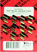 "5922-C - 1/2"" Dr. Socket Clips 10/Card"