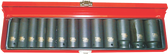 "13 PC 1/2"" DR METRIC DEEP IMPACT SOCKET SETS - 98413L"
