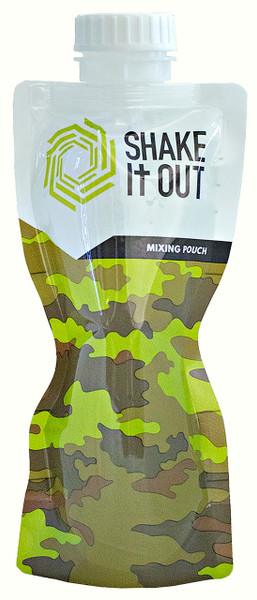 SHAKE It OUT - Camo Mixing Pouch