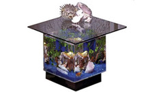 670 Aquarium End Table