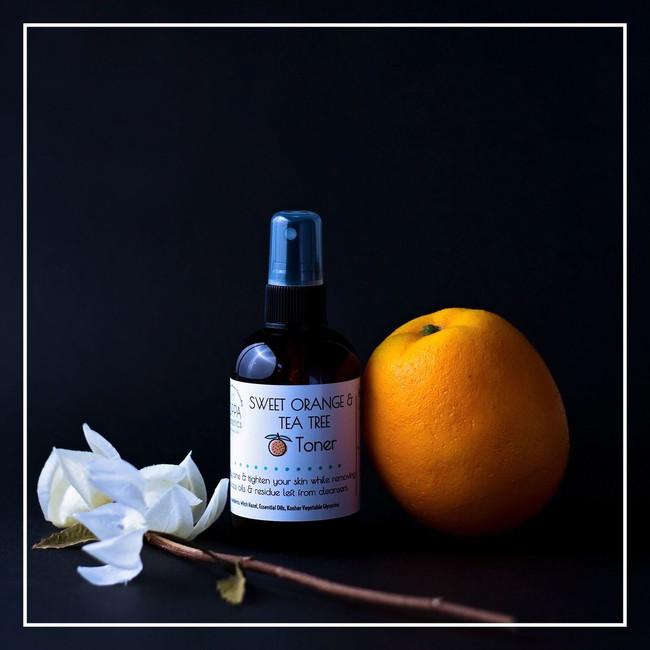 Sweet Orange and Tea Tree Toner (Cannot be shipped internationally)