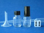 Mini Cylinder Perfume Bottles -  1/5oz (6mL)