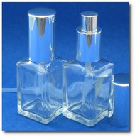 Glass Atomizers - Cube Shape 1.15oz (34ml)