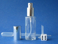 Glass Atomizers - Cylinder Round -  1.15oz (34ml)