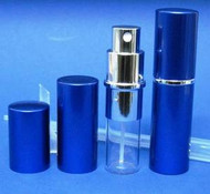 Blue Metal Atomizer - 1/3oz / 10ml