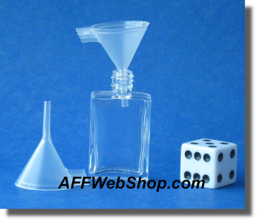 Small Plastic Funnel - Diameter 20 millimeter - for filling small bottles