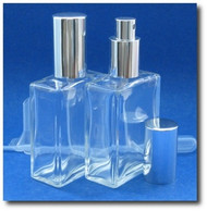 Bottle Atomizer - Rectangular - 2.2 ozs / 65ml - Choose Sprayer Color