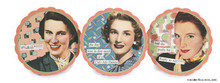 New Anne Taintor Set 6 Coasters 3 style - SWEAR