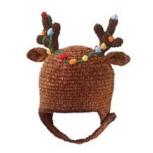 San Diego Hat Reindeer Antlers Christmas Hat 0-6M,6-12M,1-2T