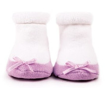 Trumpette PIXIES PURPLE LAVENDER BOOTIES Baby Girl CUTE GIFT