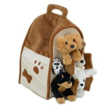 "Unipak Plush Toy - 12"" DOG HOUSE"