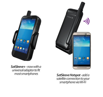 Thuraya SatSleeve Plus and Thuraya SatSleeve Hotspot