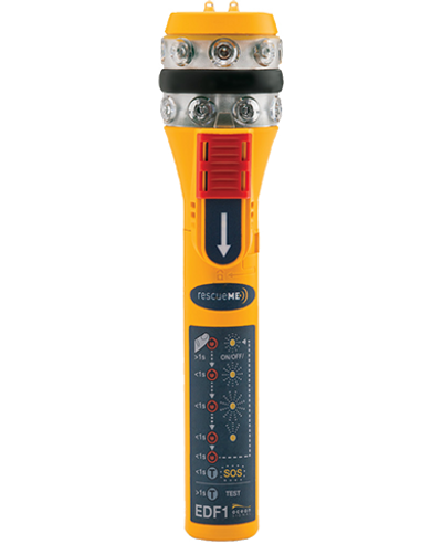 RescueME EDF1 Compact Electronic Distress Flare from Ocean Signal