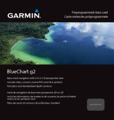Garmin BlueChart g2 Micro SD with SD Card Adaptor HAE002R Yellow Sea