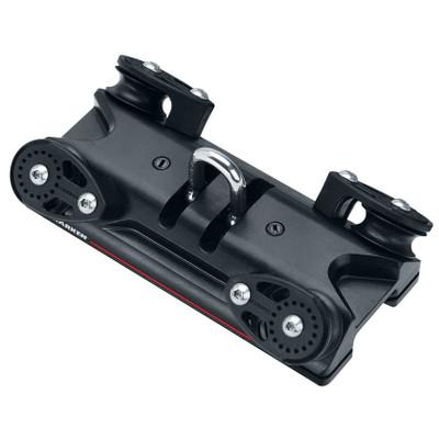 Harken BB 32mm CB Traveler Car w/ Shackle and 4:1 Controls