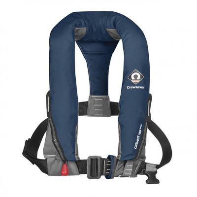 Crewsaver Crewfit 165N Sport Lifejacket - Auto, Harness, Navy Blue