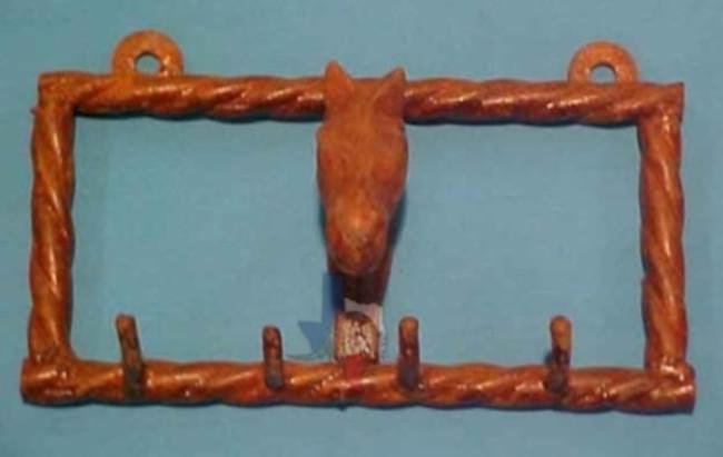 Horse Gear & Key Holder
