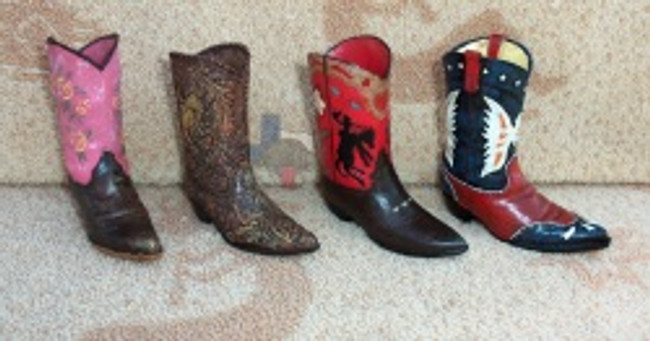 Western Resin Cowboy Boots