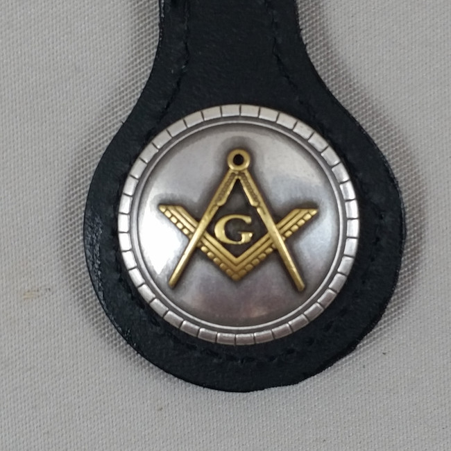 Masonic Key Fob Black