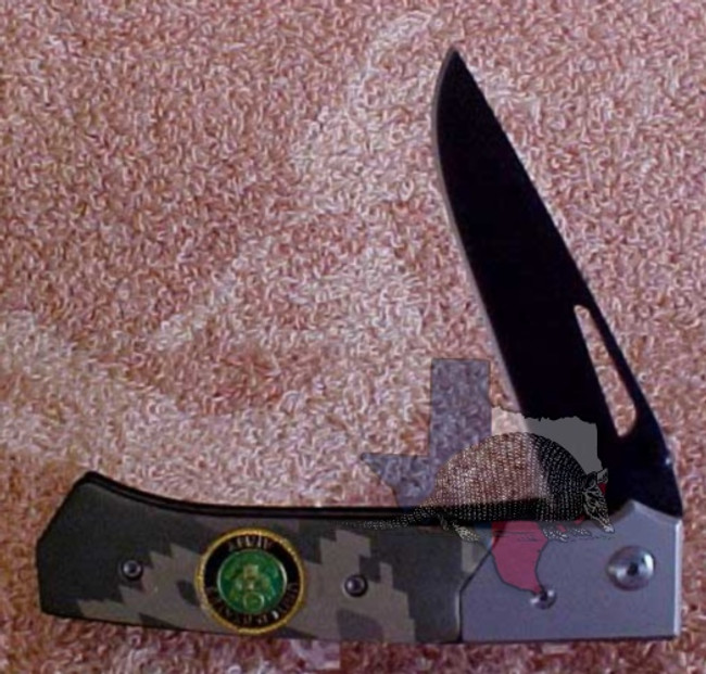 TG13028 - Best Quality Stainless Steel Blade - Army Two-Tone Camouflage Gray