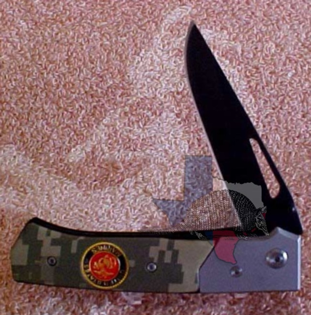 TG13030 - Best Quality Stainless Steel Blade - Marines Two-Tone Camouflage Gray