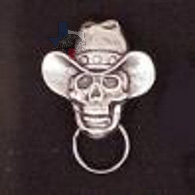 SKULL EYEGLASS HOLDER MOTORCYCLE