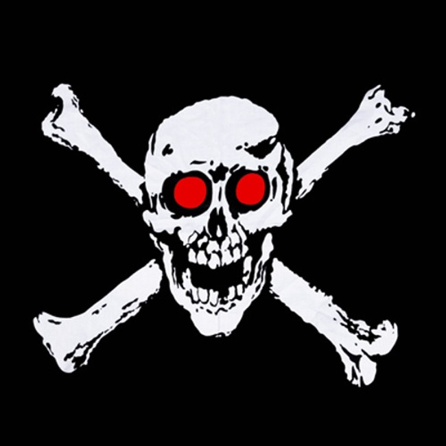 Jolly Roger Motorcycle Bandanas Pirate