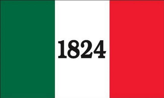 ALAMO FLAG 1824