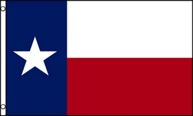 THE STATE OF TEXAS-REPUBLIC OF TEXAS FLAG (LOW-COST)