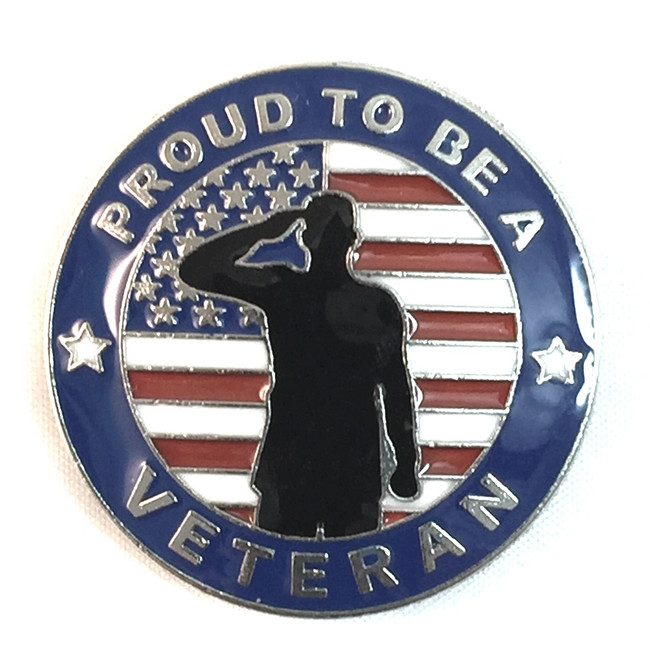 Proud to be a Veteran Concho
