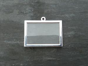 Photo Frame Pendants - Rectangles 30x20mm