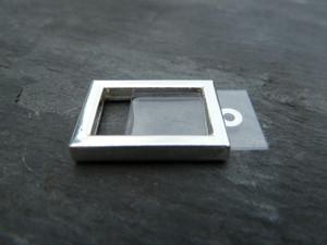 Photo Frame Pendants - Little Rectangles 10x16mm