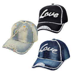 "Bling Studs Cap ""Love"" H9304"